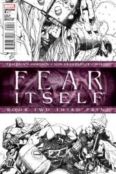 Fear Itself #2  (3rd Printing Variant)