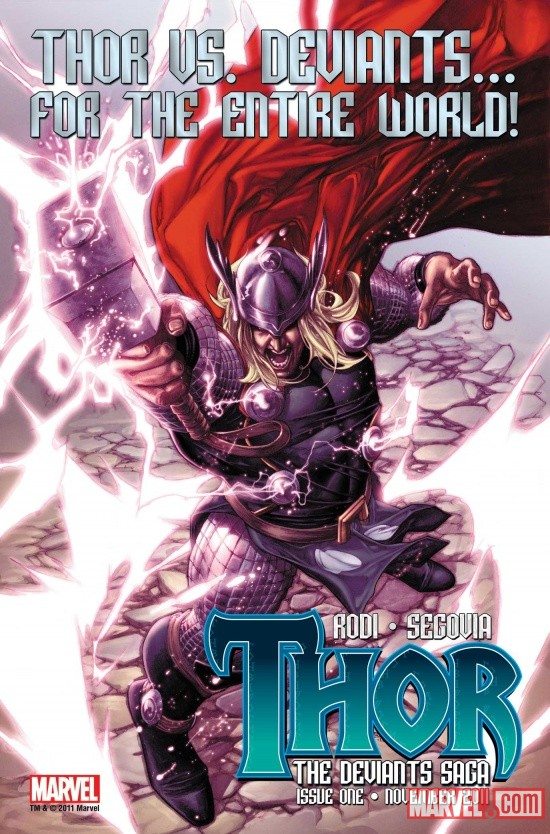 Thor: The Deviants Saga teaser by Stephen Segovia