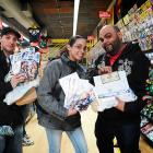 Fans at Avengers Vs X-Men Release Party at Midtown Comics