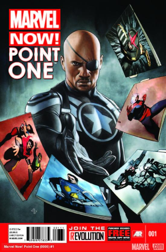 MARVEL NOW! POINT ONE 1 (NOW, WITH DIGITAL CODE)