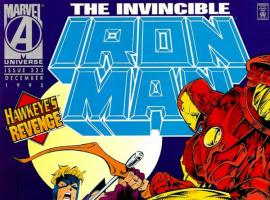 Iron Man #323 cover