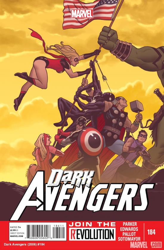 Cover: Dark Avengers (2006) #184