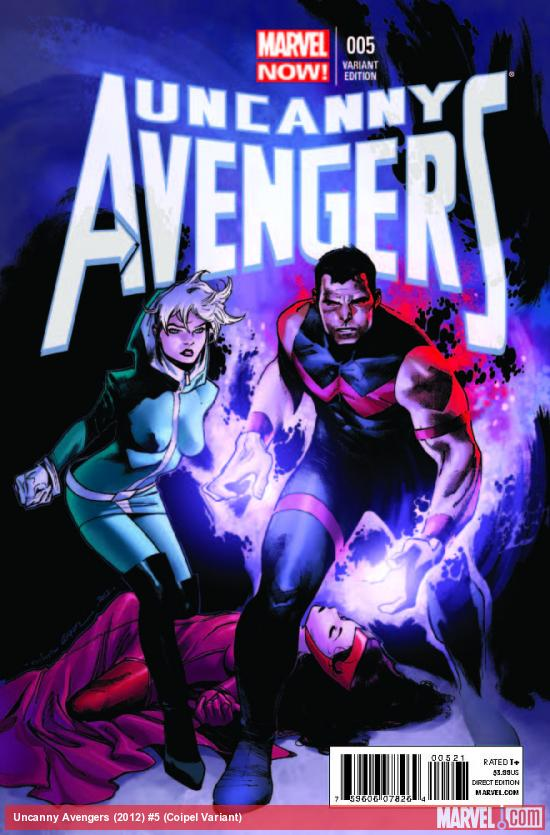 UNCANNY AVENGERS 5 COIPEL VARIANT (NOW, 1 FOR 100, WITH DIGITAL CODE)