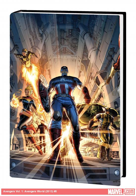 AVENGERS VOL. 1: AVENGERS WORLD PREMIERE HC (MARVEL NOW, WITH DIGITAL CODE)