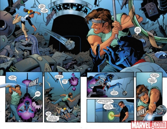 X-MEN FOREVER #6, pages 2-3