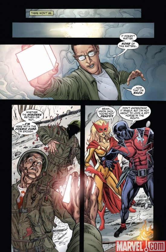 AVENGERS/INVADERS #9 preview page 3