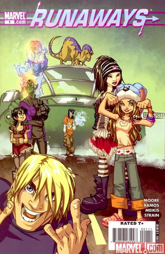 RUNAWAYS (2008) #1