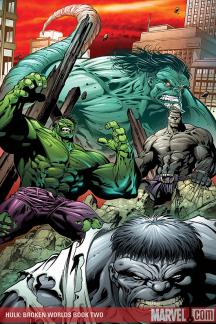 Hulk: Broken Worlds Book (2009) #2