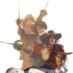 Marvel Illustrated: The Three Musketeers (2008 - 2009)