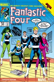 Fantastic Four Visionaries: John Byrne Vol. 7 (Trade Paperback)