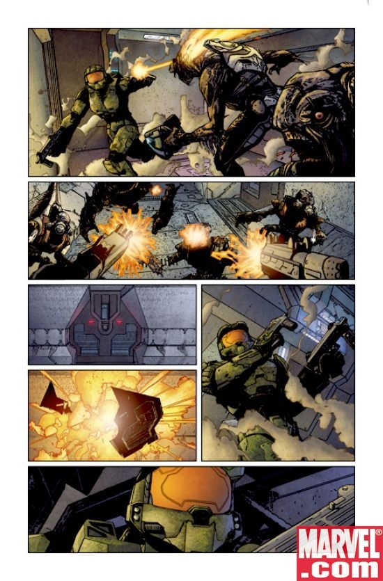 Halo: Uprising #1 Page 5