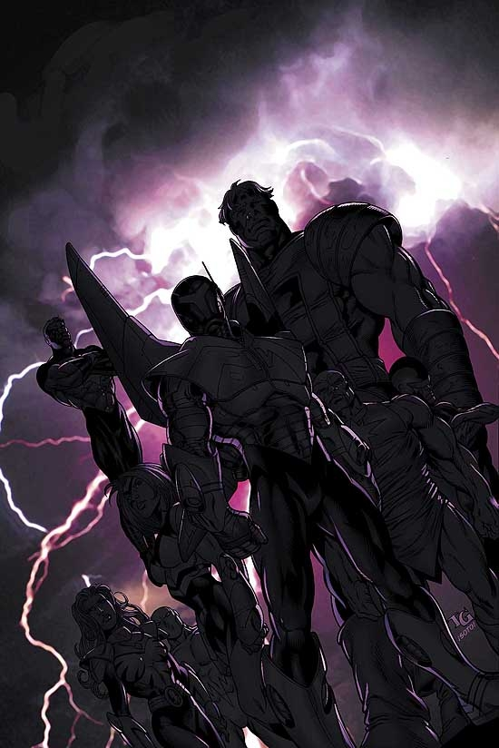 NEW THUNDERBOLTS (1999) #1 COVER