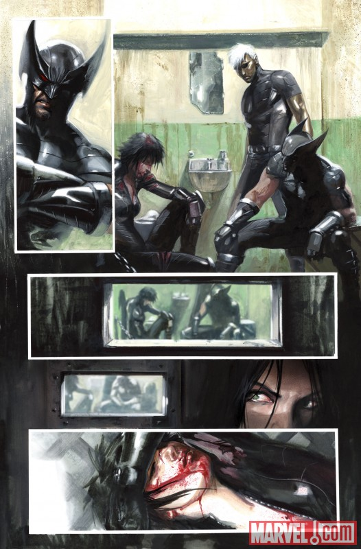 X-FORCE: SEX AND VIOLENCE #1 preview art by Gabriele Dell'Otto 4