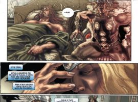 THOR: FOR ASGARD #3 preview page by Simone Bianchi