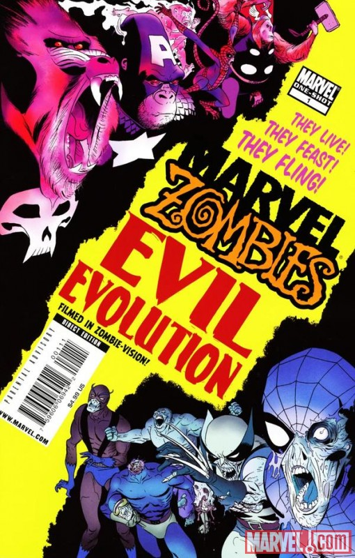 Image Featuring Marvel Zombies