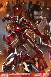 Invincible Iron Man #500  (DJURDJEVIC VARIANT)