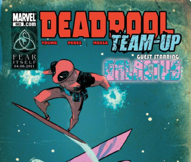 Deadpool Team Up #883 cover by Skottie Young