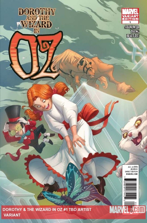 DOROTHY & THE WIZARD IN OZ 1 BRADSHAW VARIANT