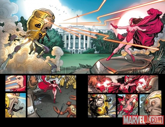 Avengers Vs. X-Men #0 preview art by Frank Cho