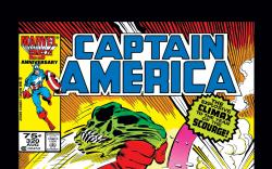 Captain America (1968) #320 Cover