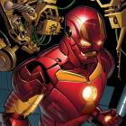 Iron Man (2012) #5 preview art by Greg Land