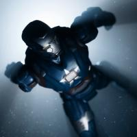 Iron Patriot action figure from Hasbro's Iron Man 3 Assemblers line