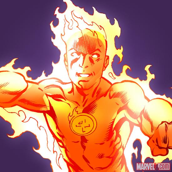 Human Torch master