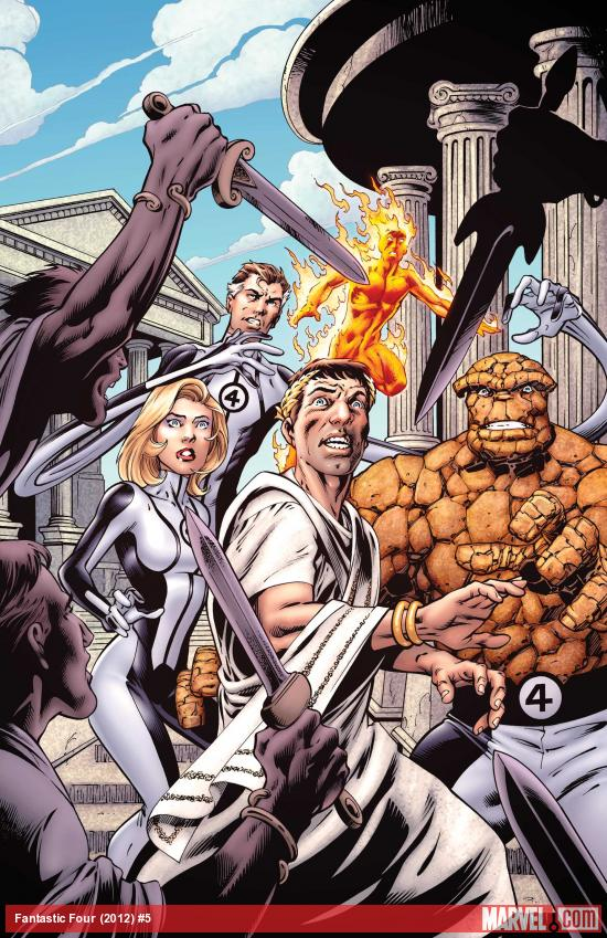 Fantastic Four #5 cover