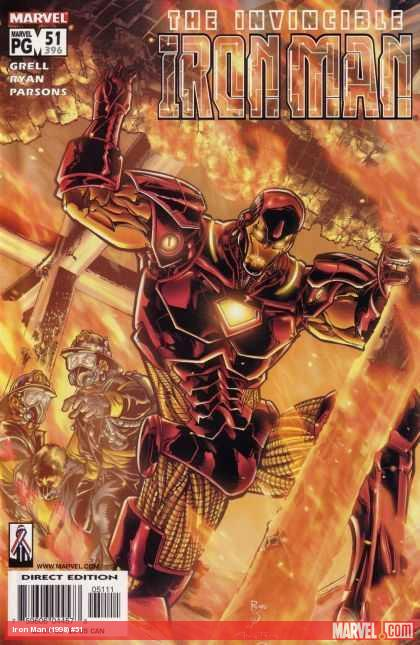 Iron Man (1998) #51 cover