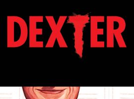 Dexter #1 cover by Mike Del Mundo