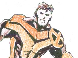All-New X-Men design sketch by Mark Bagley