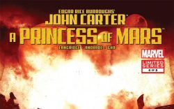 JOHN CARTER OF MARS: A PRINCESS OF MARS (2011) #4 Cover