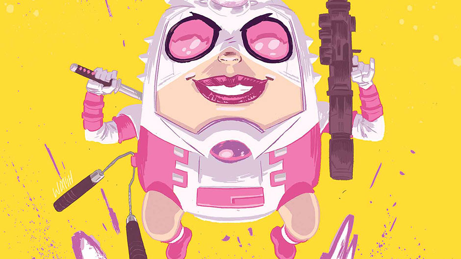 Gwenpool by Michael Walsh