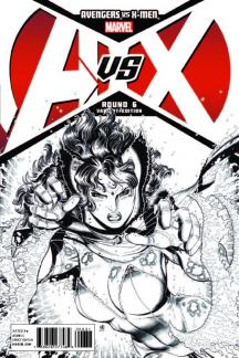 Avengers VS X-Men (2012) #6 (Bradshaw Sketch Variant)