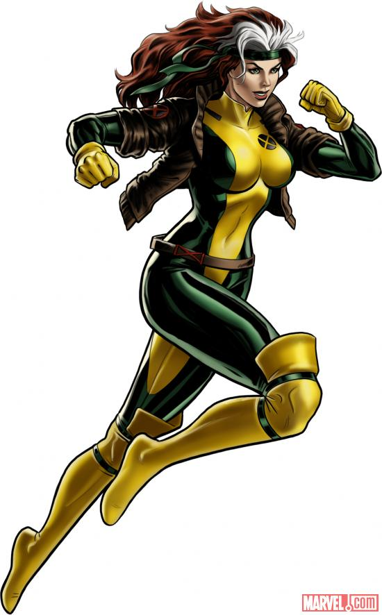 Rogue character model from Marvel: Avengers Alliance
