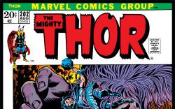 Thor (1966) #202 Cover