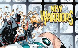 Cover from New Warriors (2005) #1