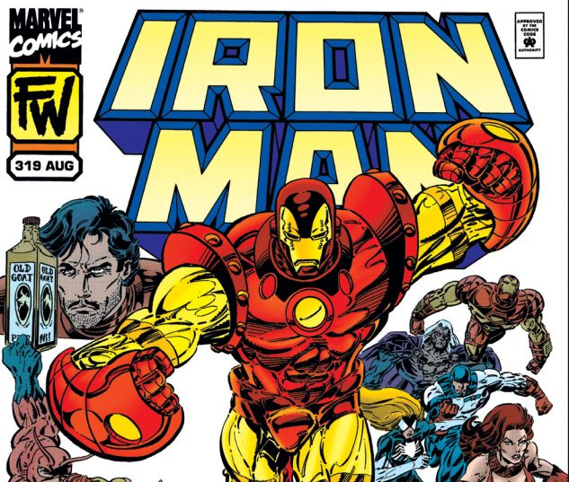 Iron Man (1968) #319 Cover