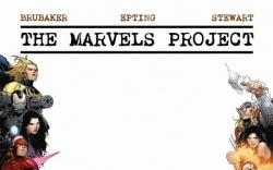 THE MARVELS PROJECT #1 (BLANK FRAME VARIANT)