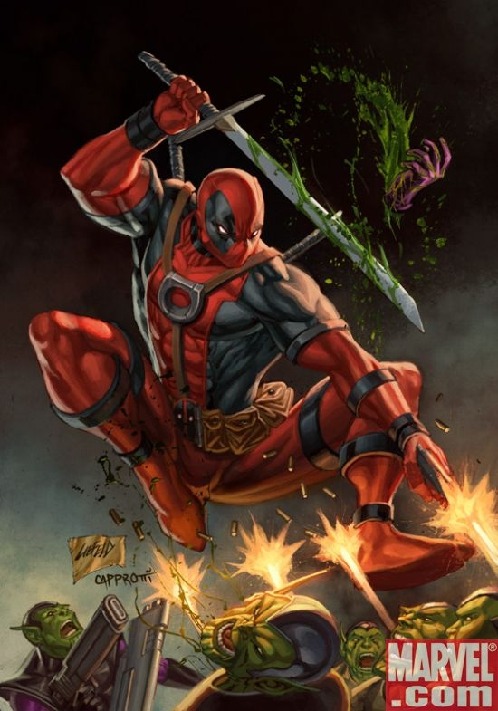 DEADPOOL #1 Rob Liefeld variant cover
