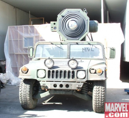 Humvee with Sonic Cannon
