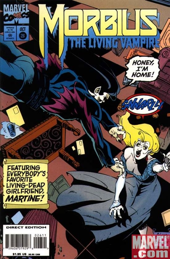 MORBIUS, THE LIVING VAMPIRE #26