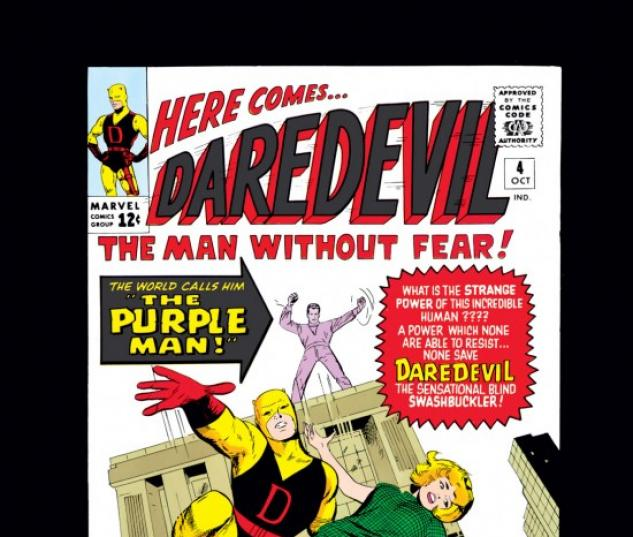 DAREDEVIL #4 COVER