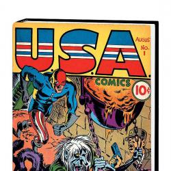 Marvel Masterworks: Golden Age Usa Comics Vol. (Hardcover)