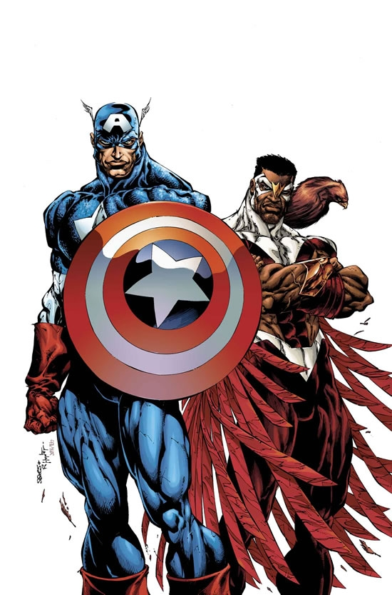 CAPTAIN AMERICA &amp; THE FALCON (2003) #1 COVER