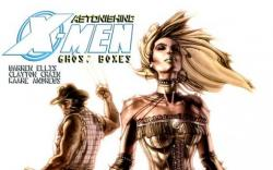 ASTONISHING X-MEN: GHOST BOXES #2 cover by Simone Bianchi