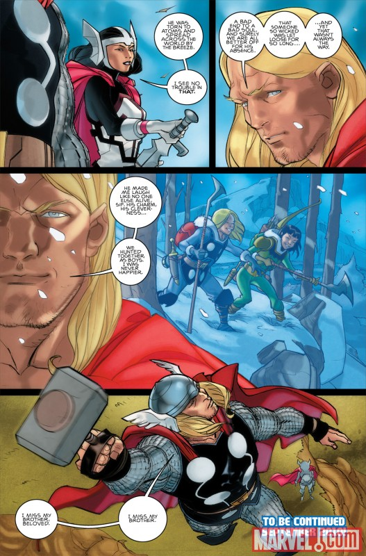 THOR #615 preview art by Pasqual Ferry 3