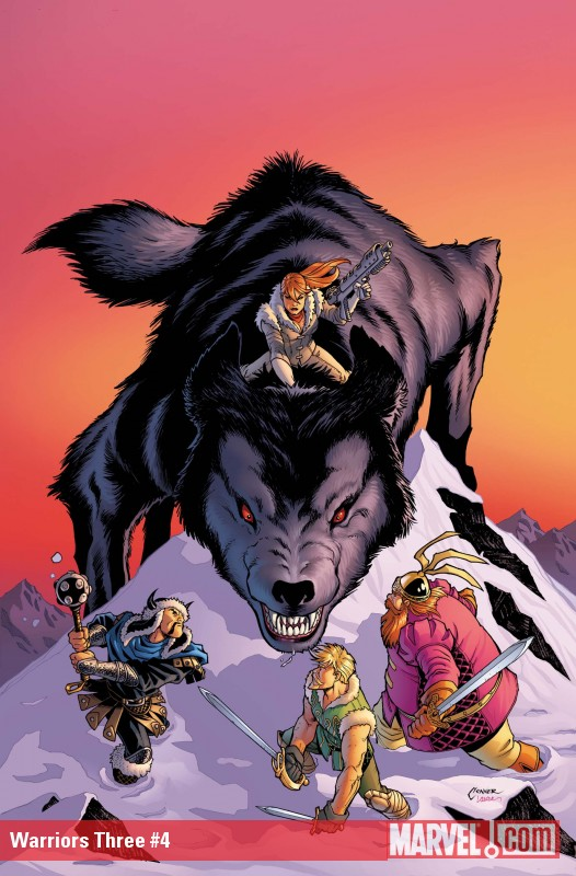 Warriors Three (2010) #4