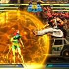Phoenix and Ryu from Marvel vs. Capcom 3