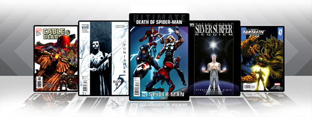 Marvel iPad/iPod App: Latest Titles 4/13/11
